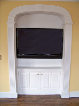 Wall sized built-ins