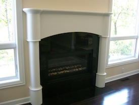 Paint grade mantel
