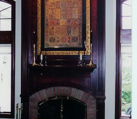 Surround with overmantel