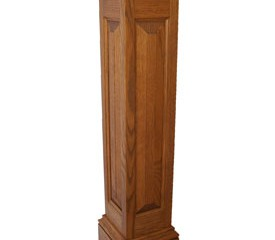 Raised panel column